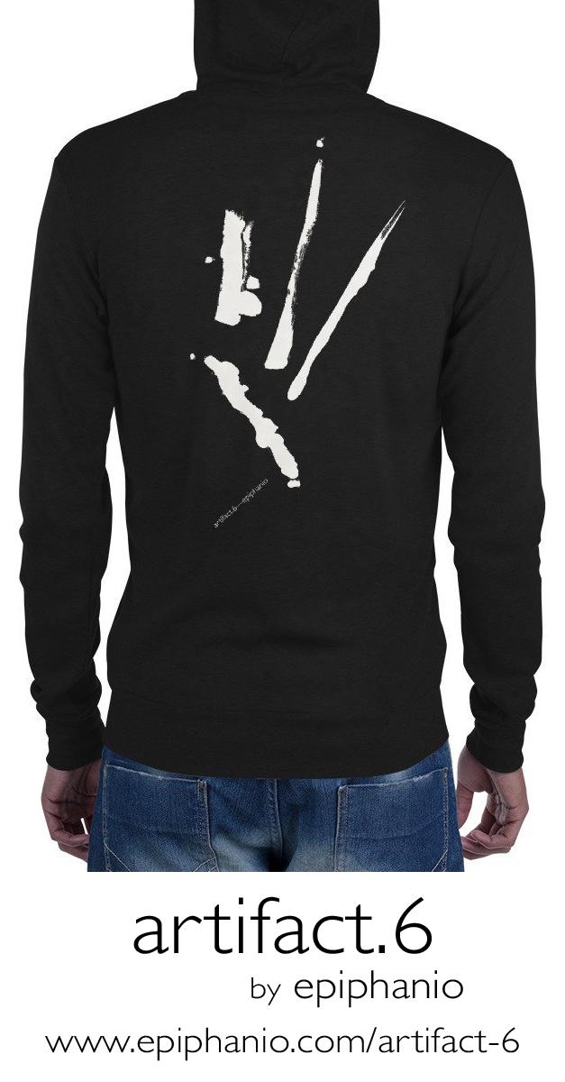 Artifact.6 — Men's zip hoodie